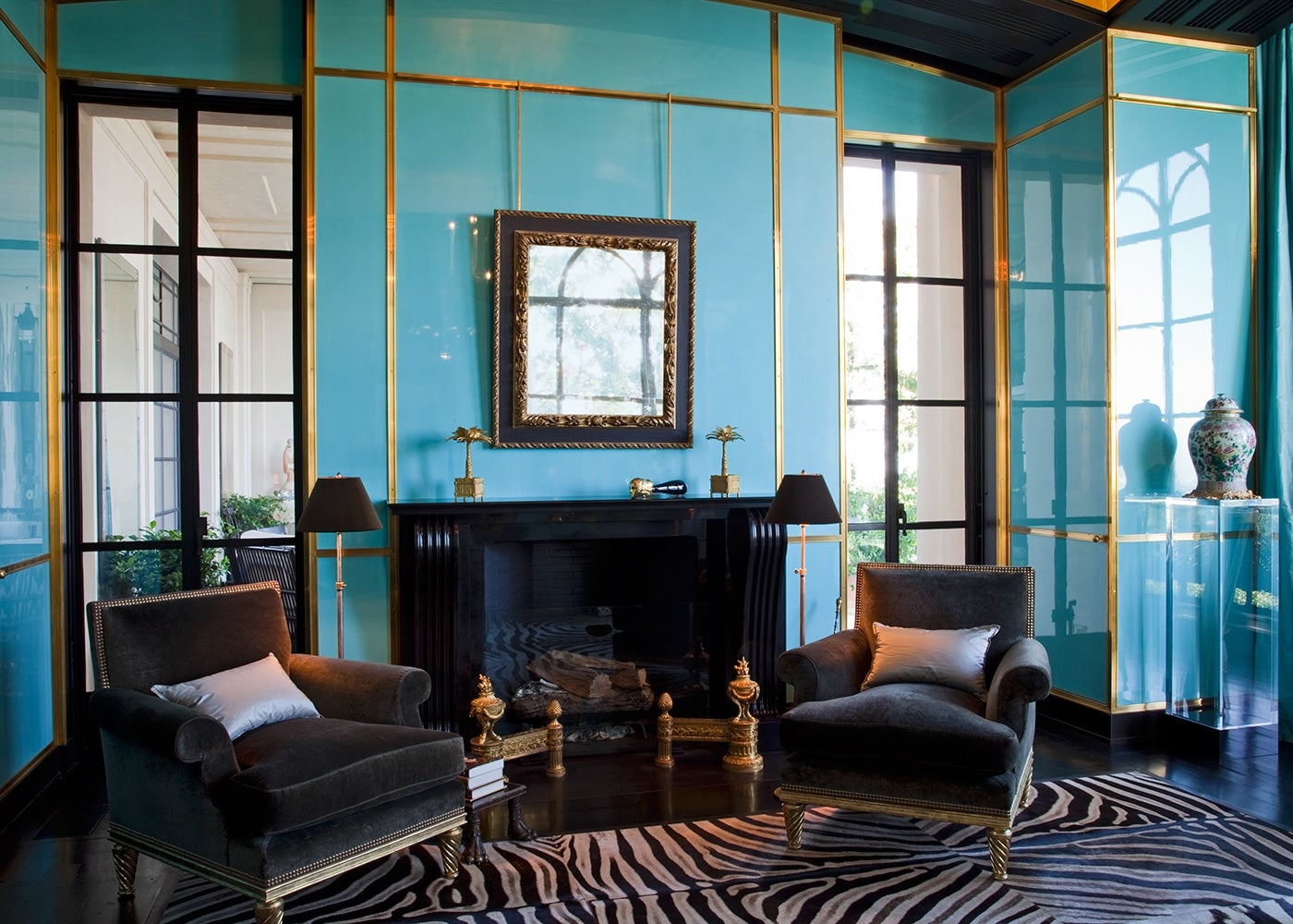 Brian j mccarthy 18 of the designer 39 s luxe interiors for Luxe interieur design