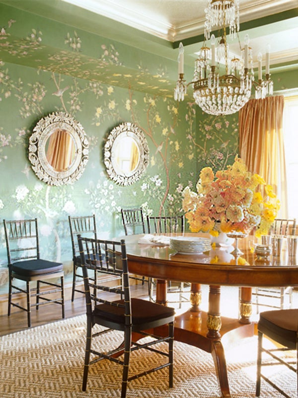 Study Room Wallpaper: Chinoiserie In Room Design: 21 Modern, Exotic Spaces