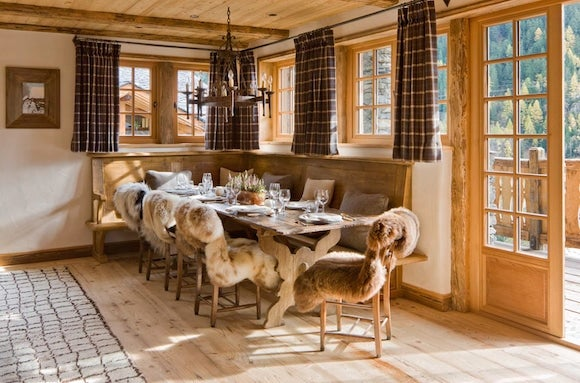 12 Interiors Designed This Sunny Breakfast Nook At Chalet Pelerin In Le  Miroir, France, Featured In The Book Hotel Chic At Home. The Firm  Commissioned The ...
