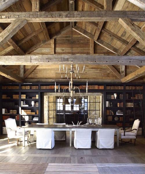 12 Rustic Dining Room Ideas: 12 Decked-Out Dining Rooms