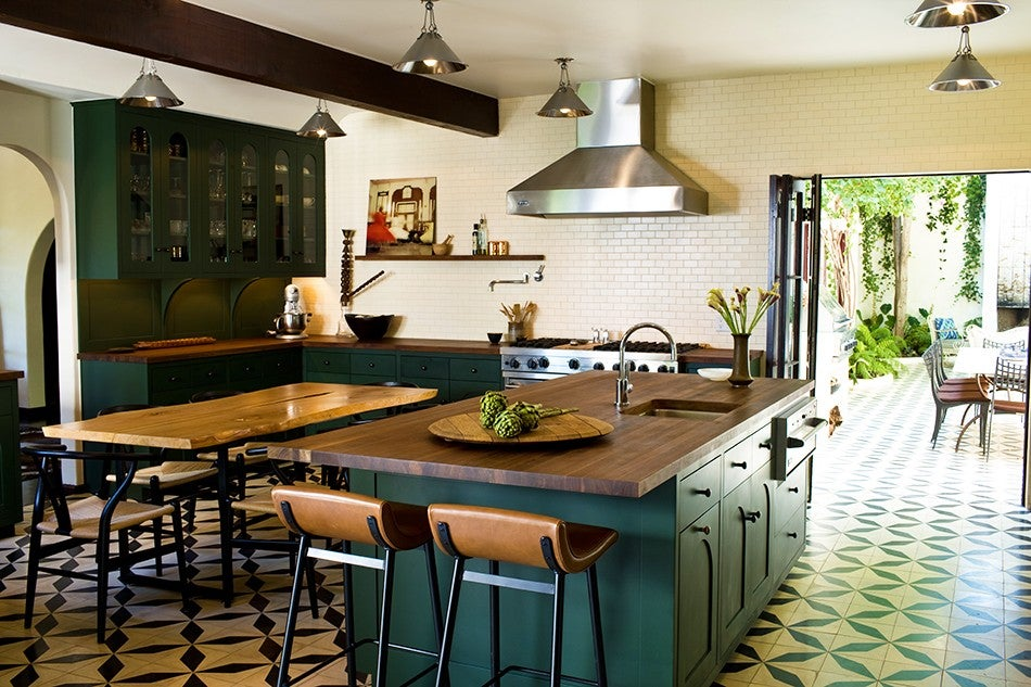 Gezellige Design Keuken : Spanish Style Kitchen Floor Tiles
