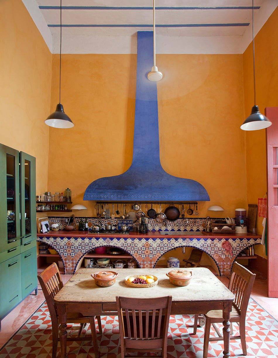 Casa Mexico on Colorful Living Room Furniture