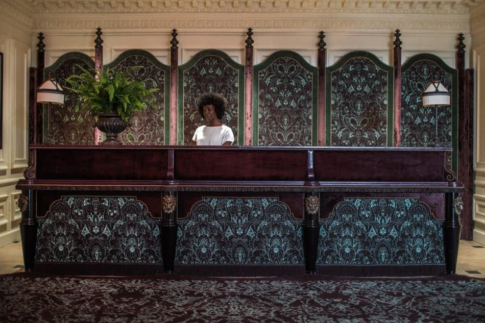 Nomad hotel reception LA