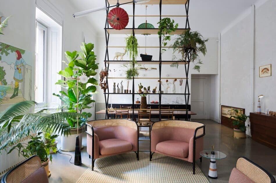 Pietro Russo living room etagere