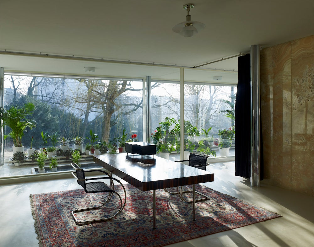 Mies Der Rohe Haus Tugendhat tour an ultramodern 1930 villa by mies der rohe the study