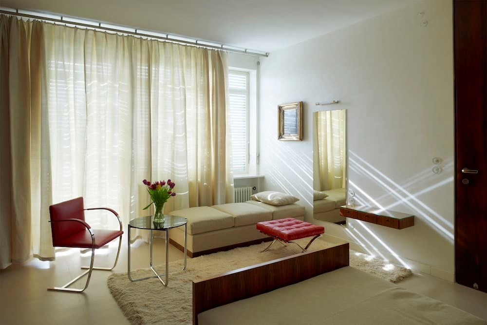 Grete's bedroom at Mies van der Rohe's Villa Tugendhat