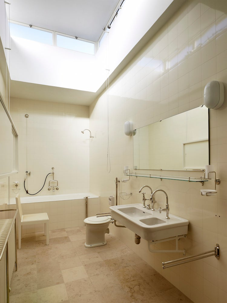 Bathroom at Mies van der Rohe's Villa Tugendhat