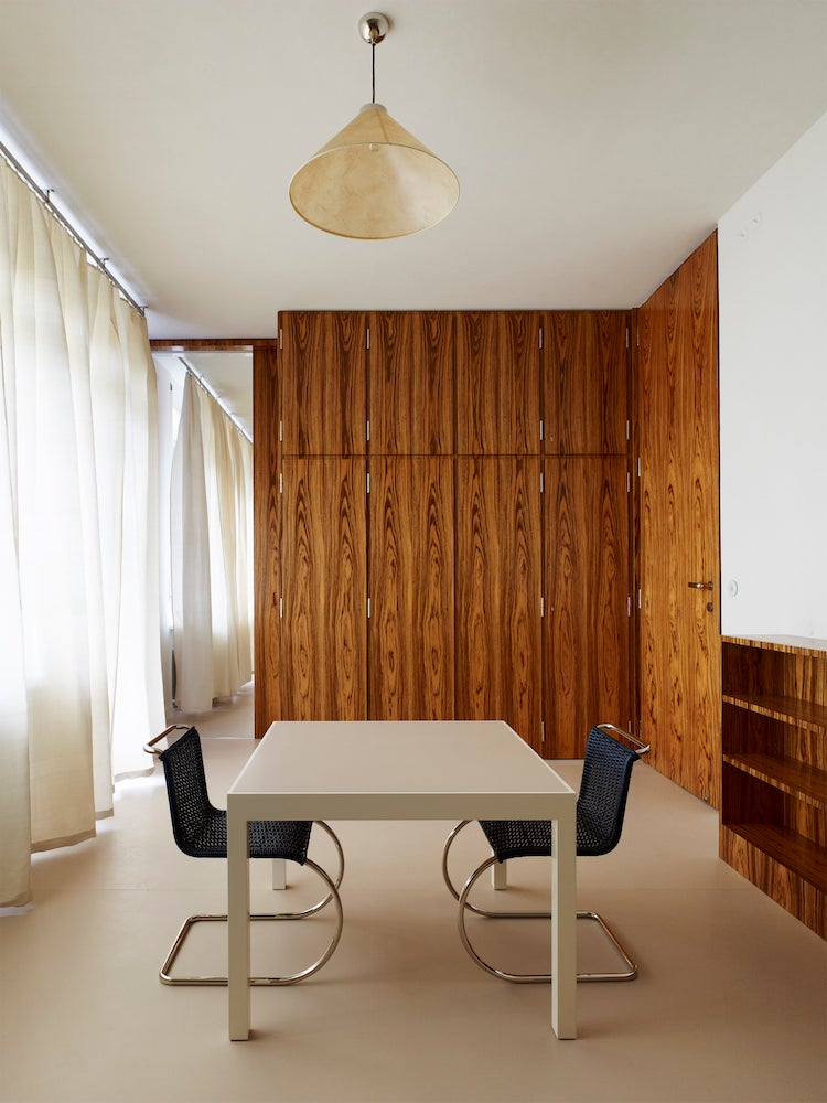 Hanna's bedroom at Mies van der Rohe's Villa Tugendhat