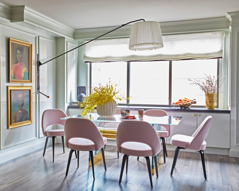 New York City dining room by Wesley Moon