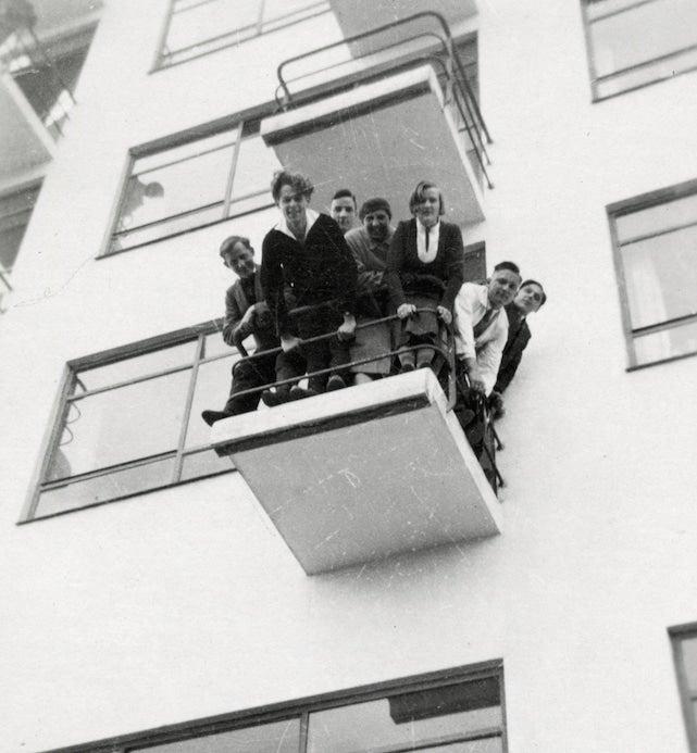Bauhaus students, 1931/1932