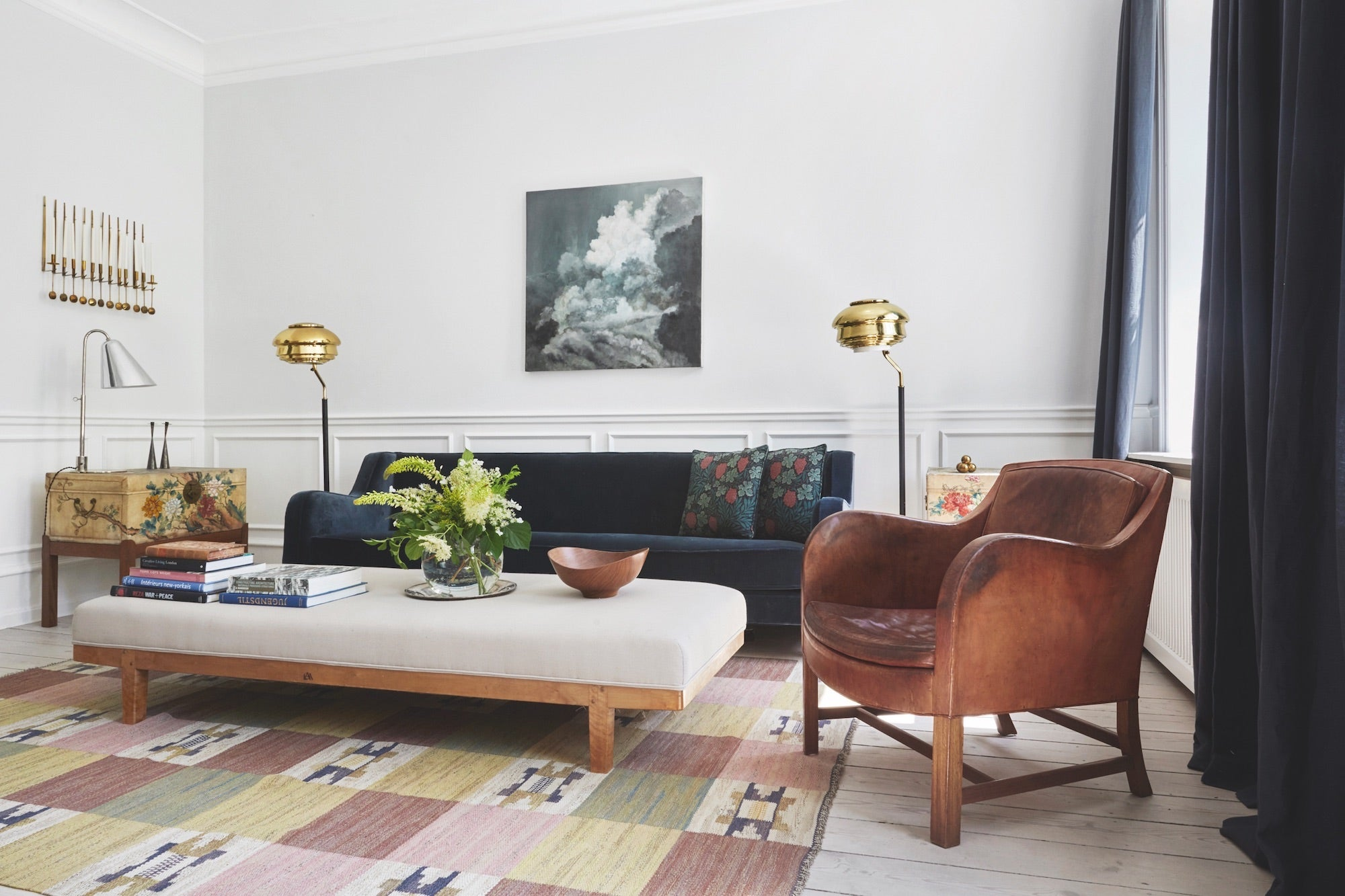 Nice Tour The Copenhagen House Of Mid Century Maven Rebecca Wernberg