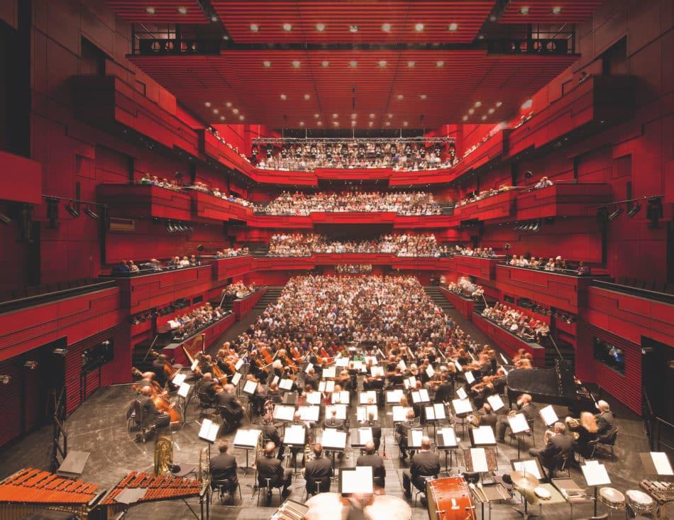 Harpa Concert Hall in Reykjavik, Iceland by Henning Larsen Architects