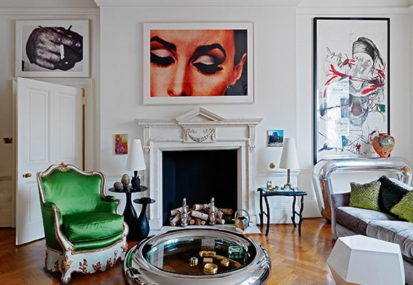 cutting-edge cool: 15 rooms filled with contemporary art and design