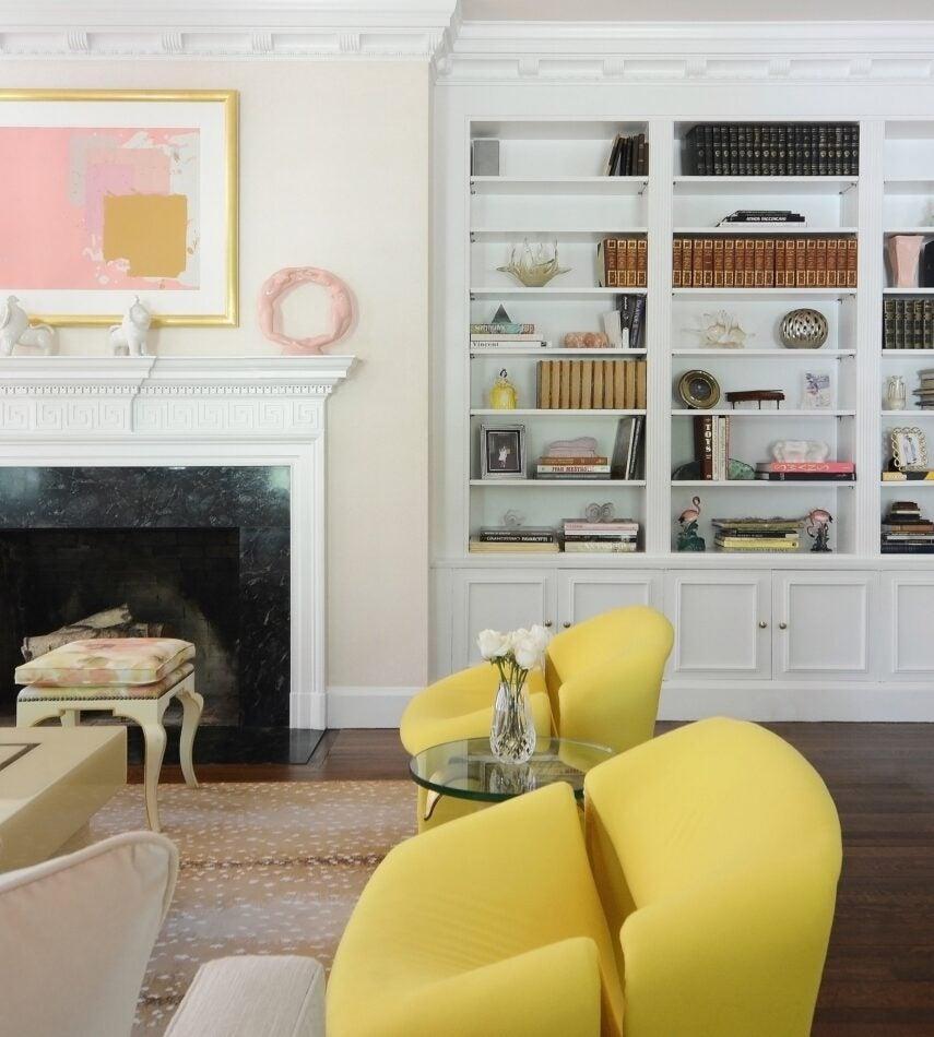 Sasha Bikoff-designed living room