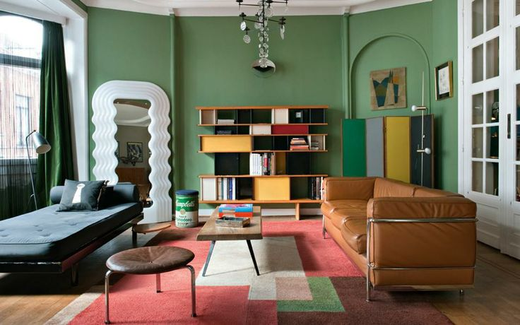 12 rooms with dramatic unexpected mirrors the study - Tinte per pareti di casa ...