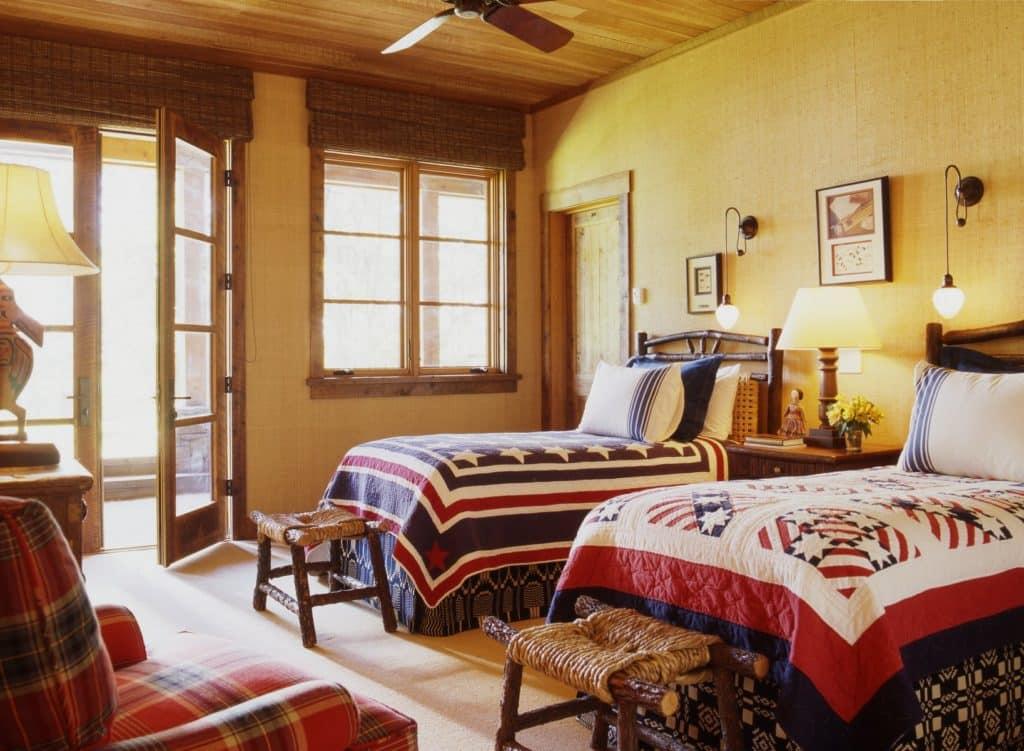 ranch bedroom by Tucker & Marks