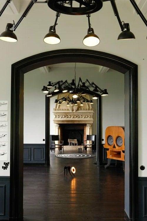 dark and moody interiors. Black Bedroom Furniture Sets. Home Design Ideas