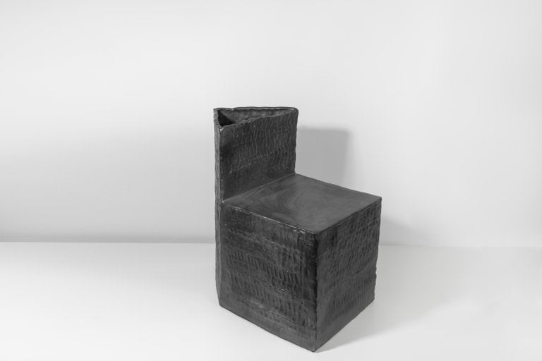 Jonathan Nesci w/  Robert Pulley coppered-glaze 18/18 chair