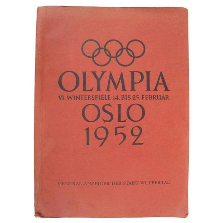 1952 winter olympics album