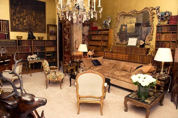 An Interior Of Coco Chanel S Paris Apartment At 31 Rue Cambon Lived On The Third Floor This Four Story Townhouse One Level Beneath Her Brand