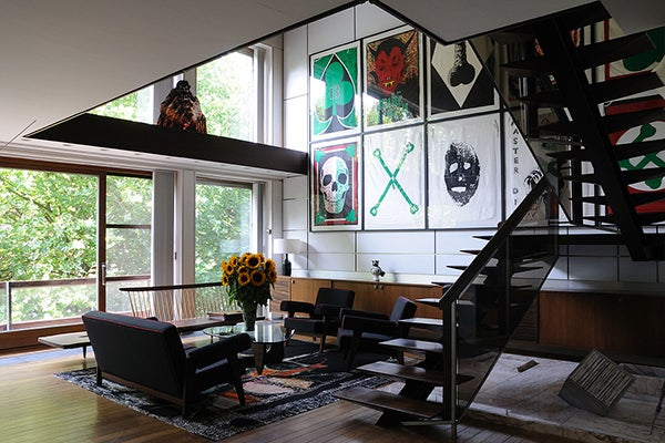 The Antwerp Home Of Raf Simons, Who Heads Up Design For Christian Dior, Is  Filled With His Collection Of Mid Century Modern Furniture.