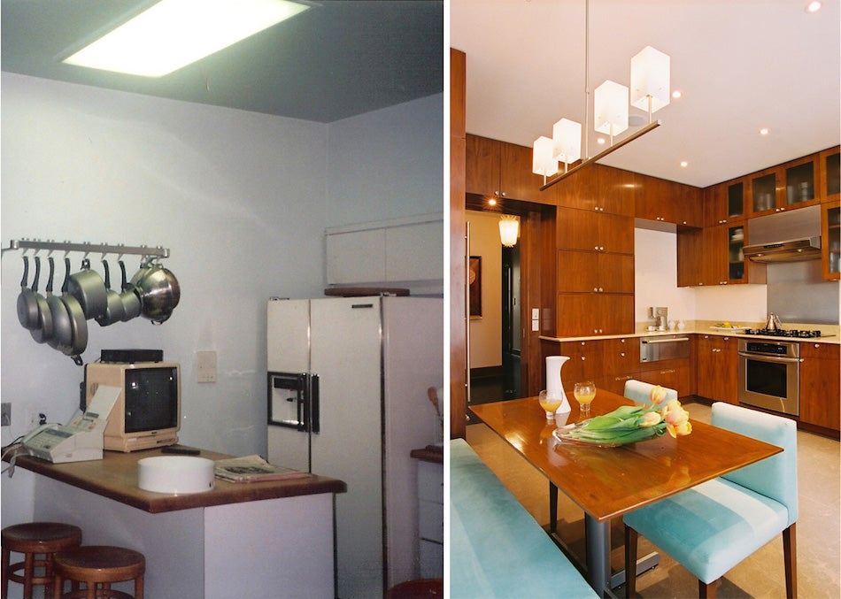 kitchen before and after by White Webb
