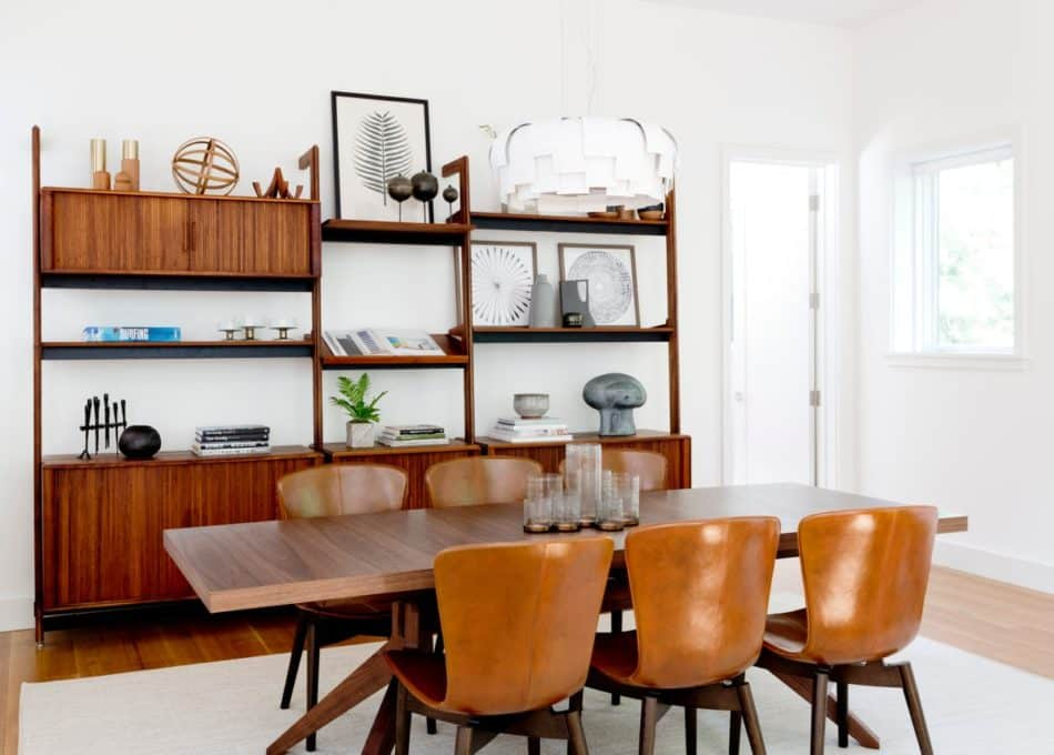 mid-century dining room by Timothy Godbold
