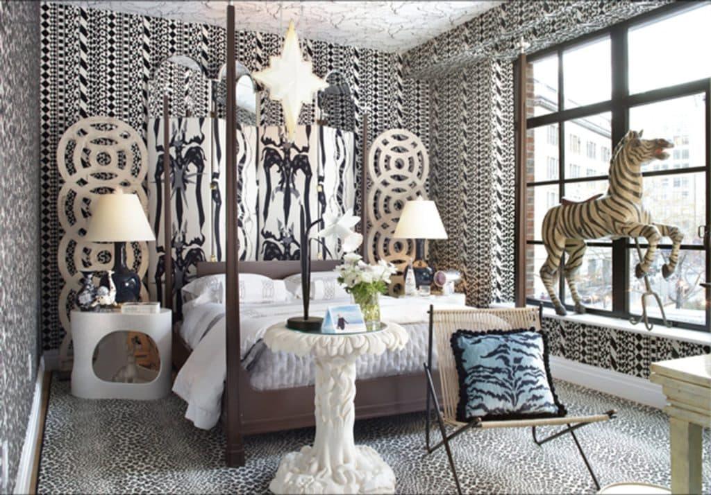 Holiday House bedroom by Harry Heissmann Inc.