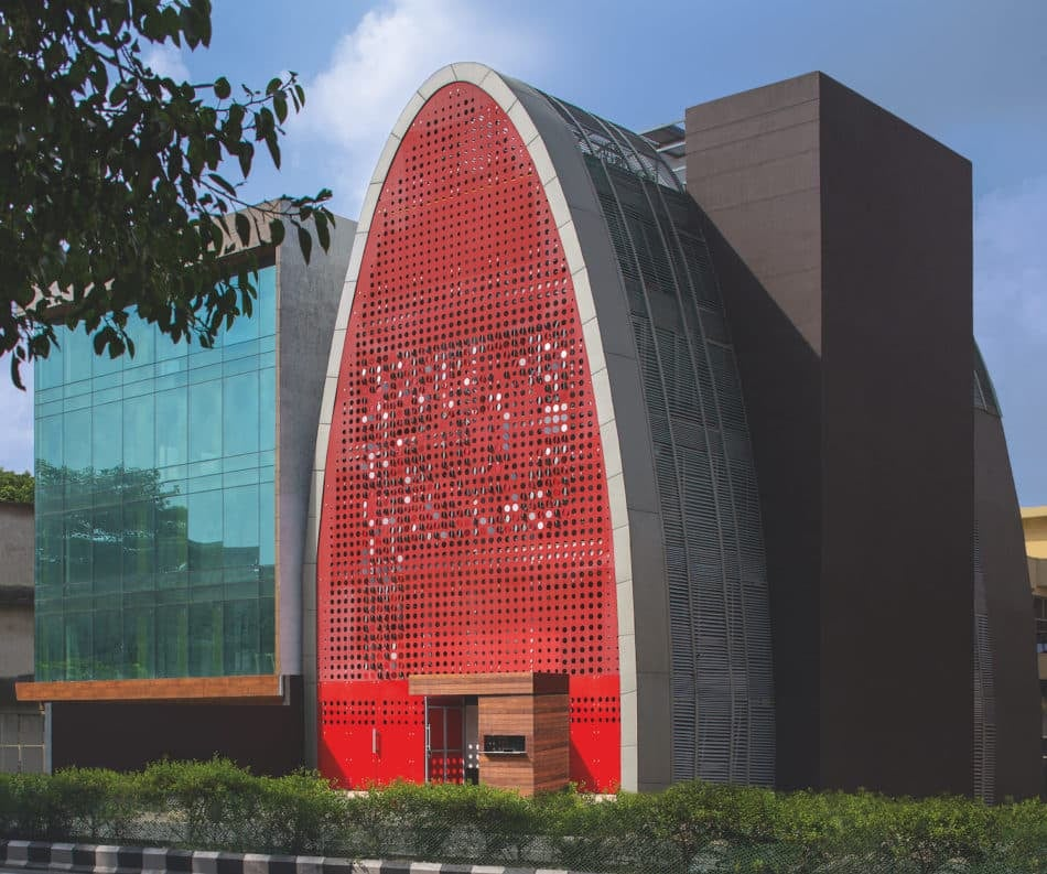 The Digit in New Dehli, India by Anagram Architects