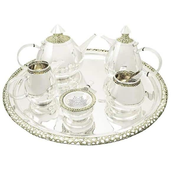 Ian Calvert sterling-silver tea and coffee service, 1973
