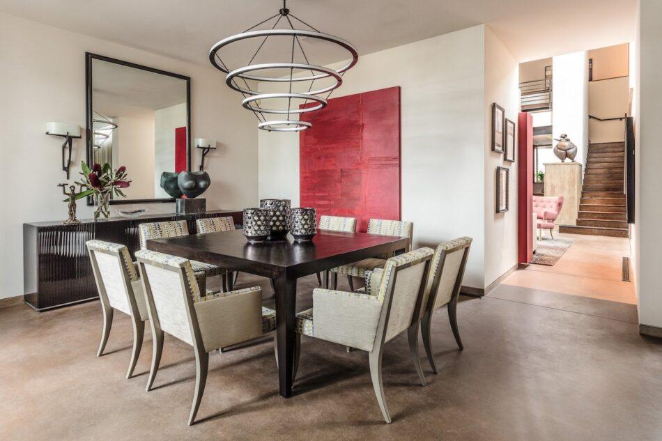 Tom Stringer dining room