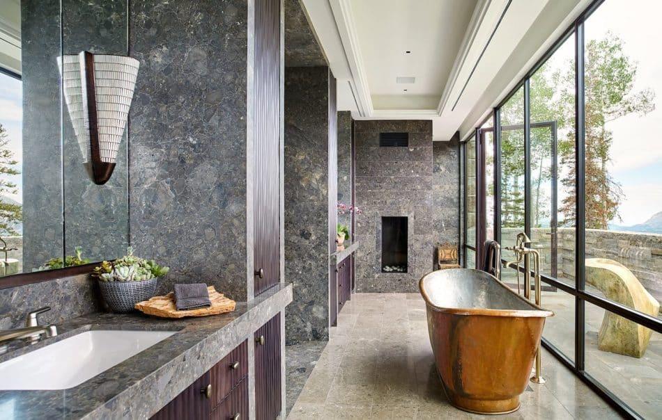 Thomas Hamel & Associates bathroom in Telluride, CO