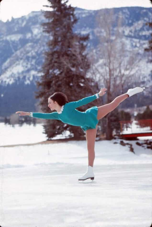 Peggy Fleming portrait