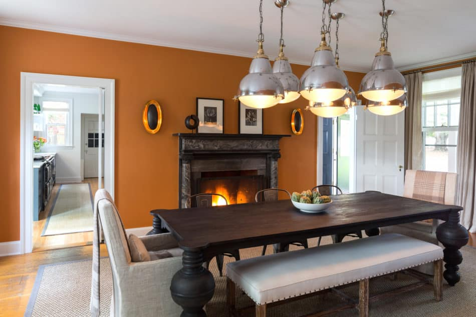 Litchfield Countryside Retreat - Dining Room by Chango & Co