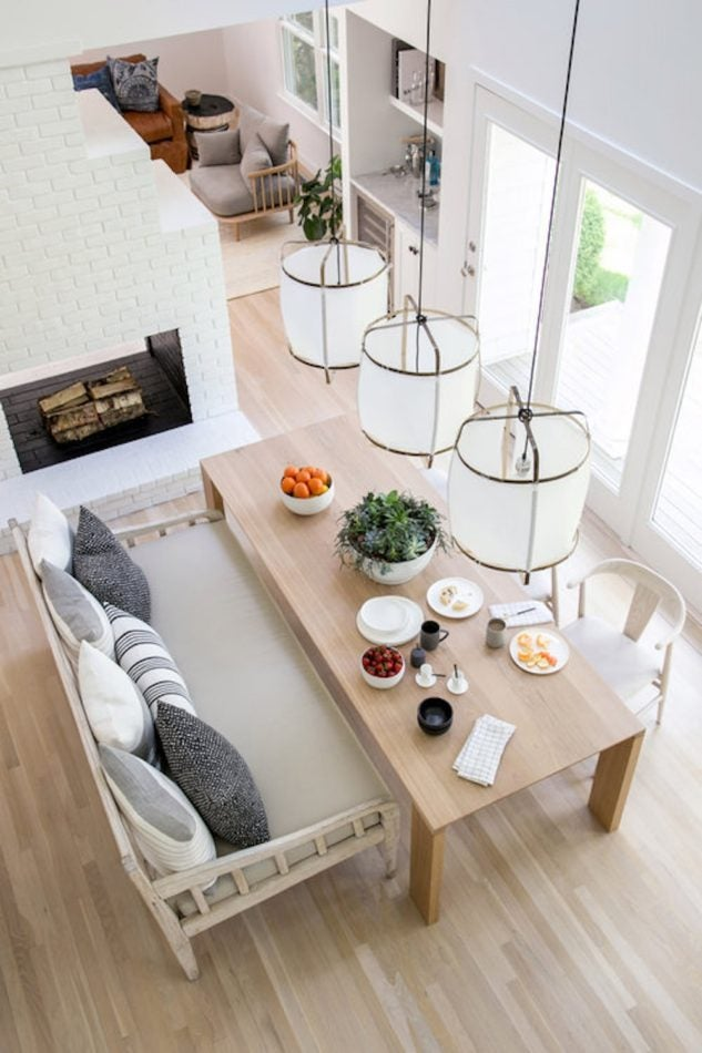 East Hampton dining room by Chango_Co.