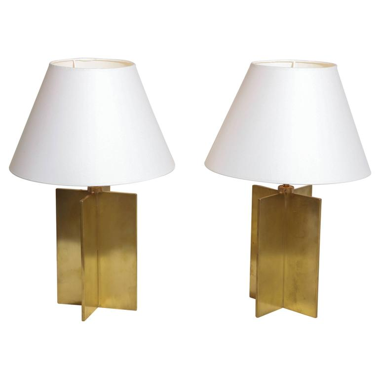 Croisillon table lamps