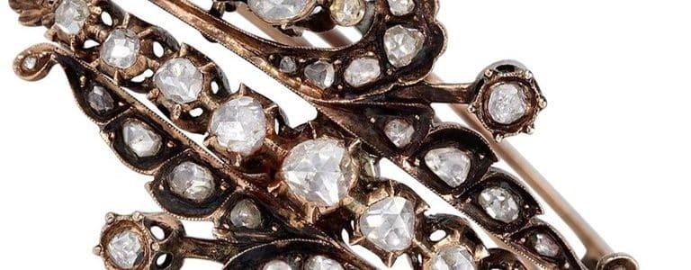 6.80 Carat Diamond 16 Karat Gold Bangle