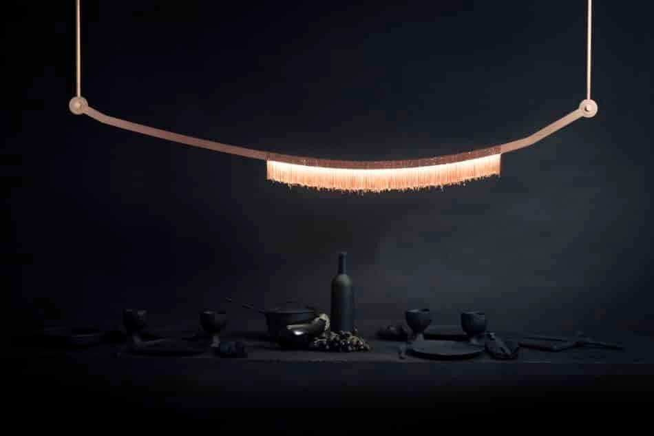 Liane pendant by Larose Guyon