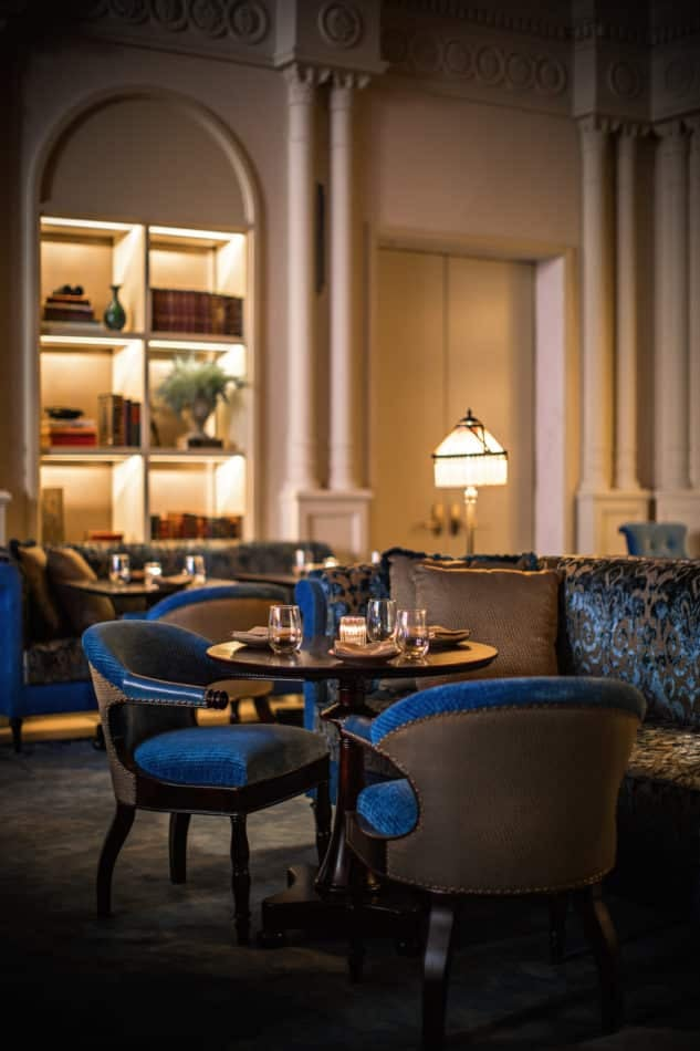 library at NoMad Hotel LA