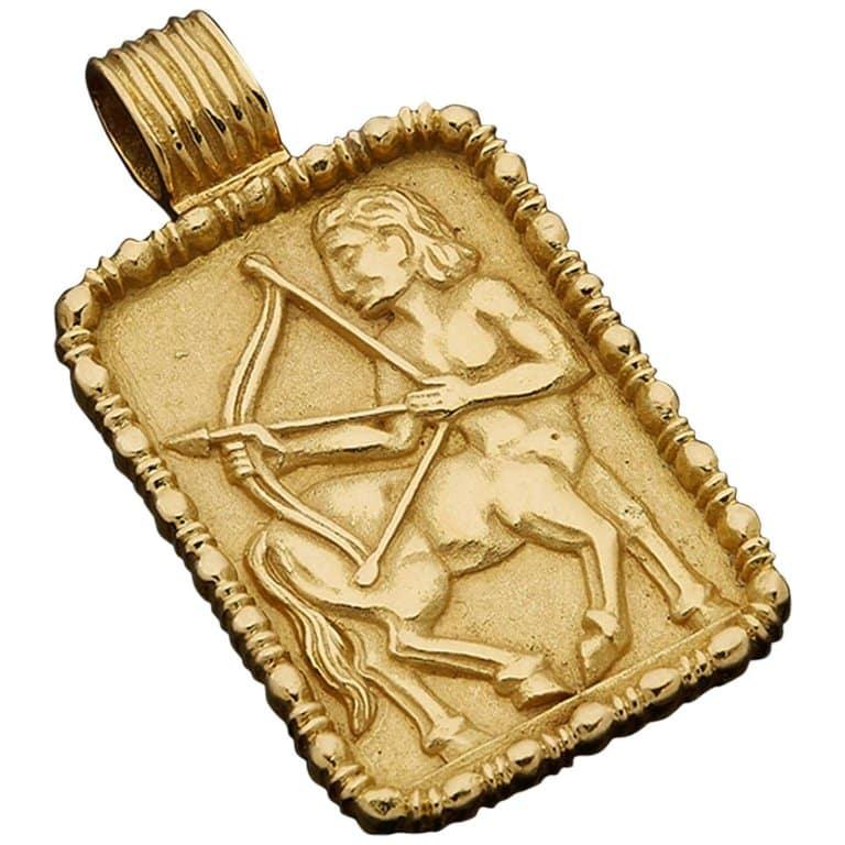 Fred of Paris sagittarius pendant