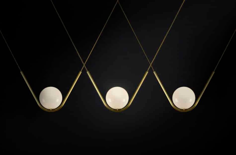 Perle 1 Pendant by Larose Guyon
