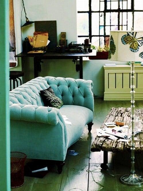 Velvet Chesterfield Sofas Trend Spotlight