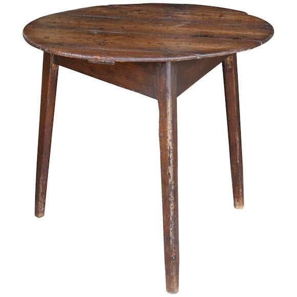 English cricket table, early 19th century