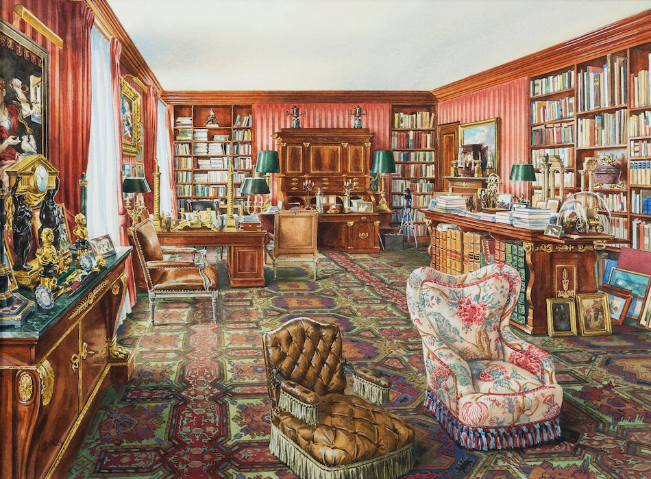 Henri Samuel room rendering