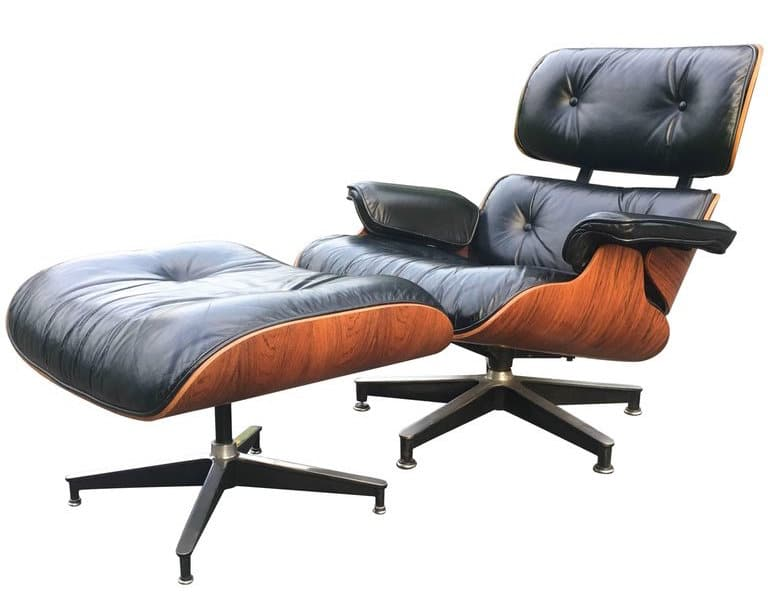 black leather armchair and ottoman  sc 1 st  1stDibs & The 16 Most-Popular Mid-Century Modern Chairs | The Study