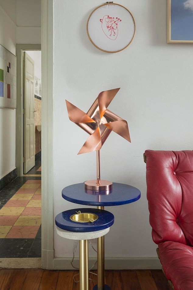 Bianca Barbato's Wind Vane table lamp