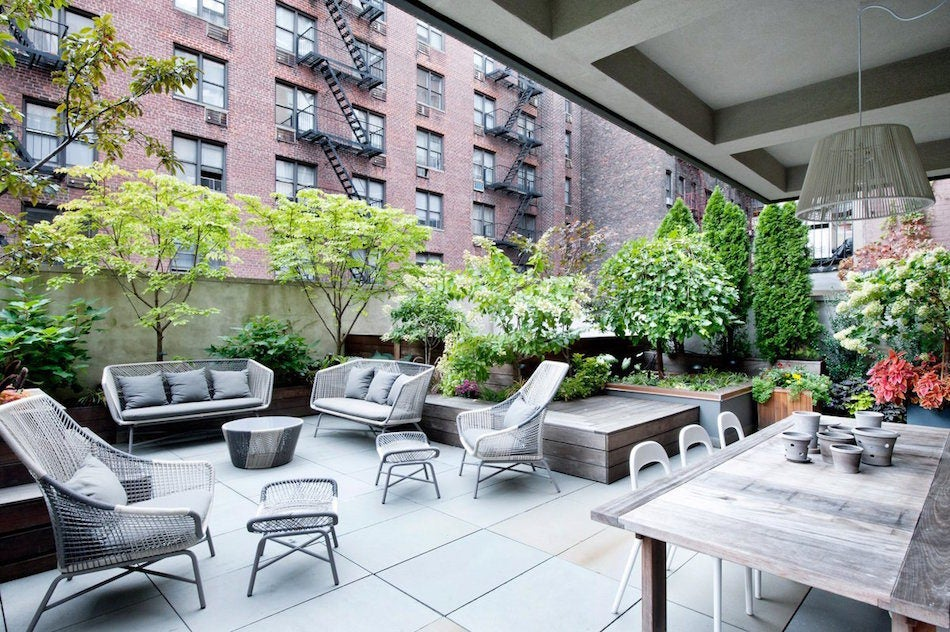 Manhattan urban oasis by DHD Architecture & Interior Design
