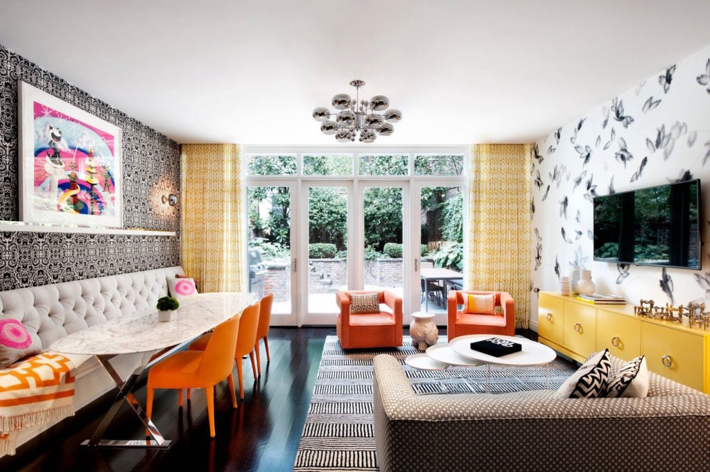 DHD Architecture & Interior Design Manhattan living room