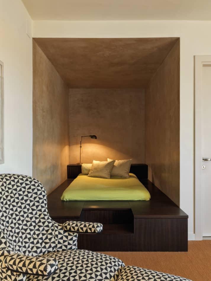 sleeping nook by Aldo Cibic
