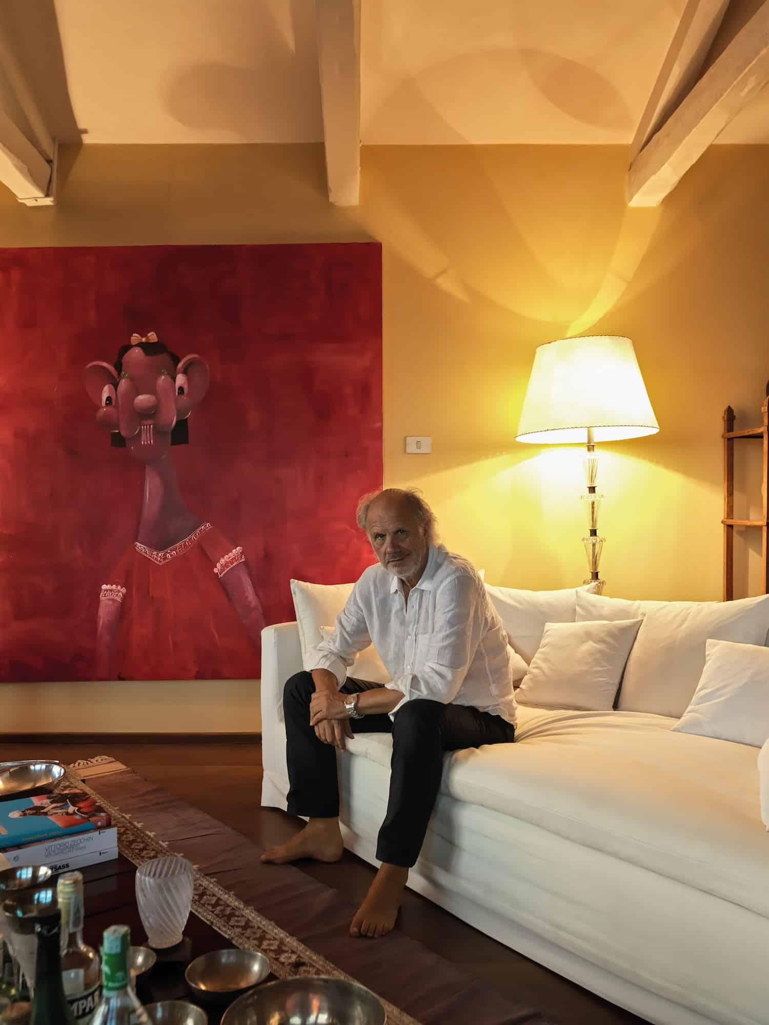 living room by Aldo Cibic